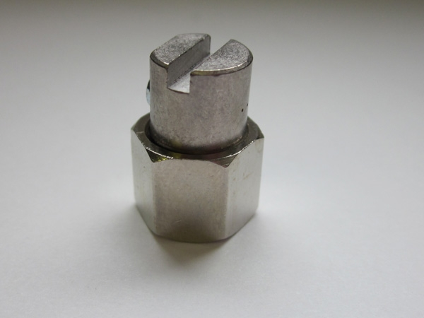 Right-Angle Nozzle: 3 Orifice